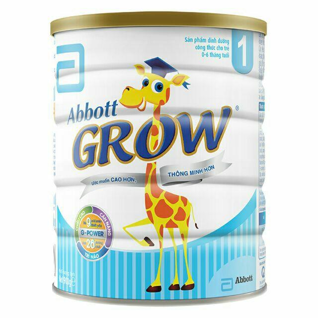 sữa abbot grow số 1 900g date 3.2019