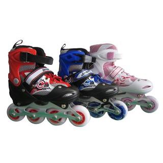 Giày trượt patin bánh phát sáng kèm bộ bảo hộ