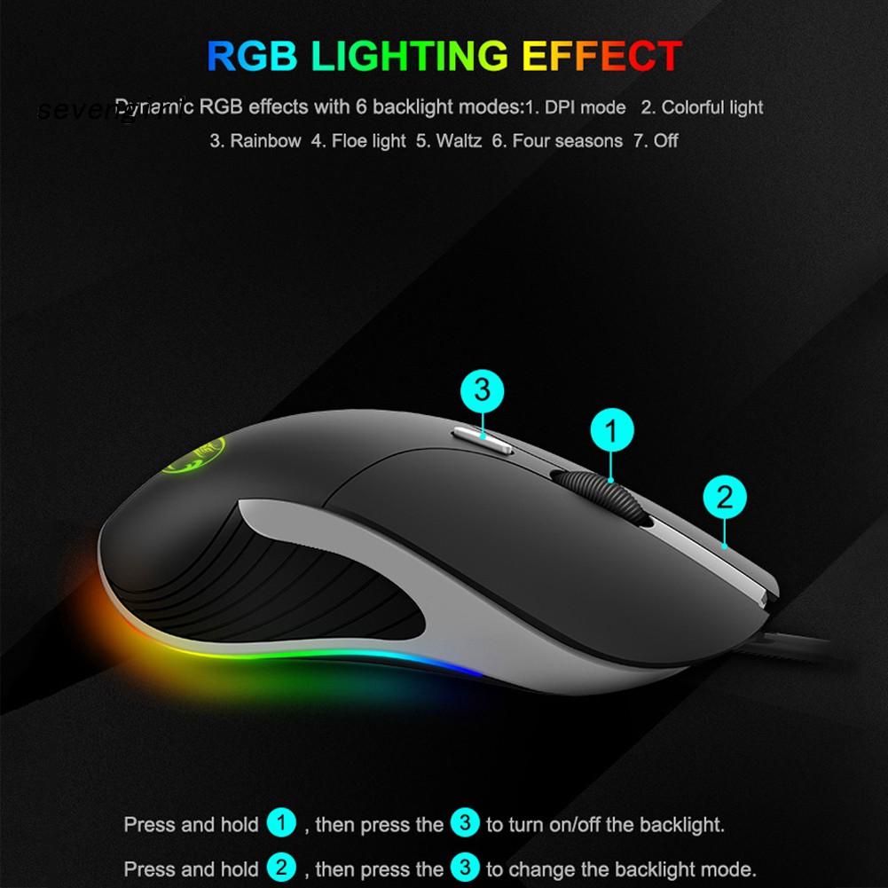 Chuột Gaming Imice X6 6 Nút Bấm Có Đèn Led Rgb