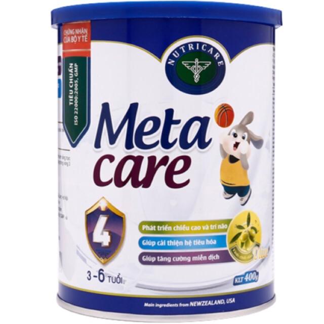 Sữa bột Metacare 4 loại 400g