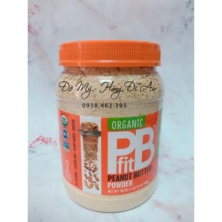 (Hộp Đựng) Bột bơ đậu phộng hữu cơ PBfit 850g