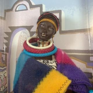Búp bê barbie dolls of the world da màu princess of south africa