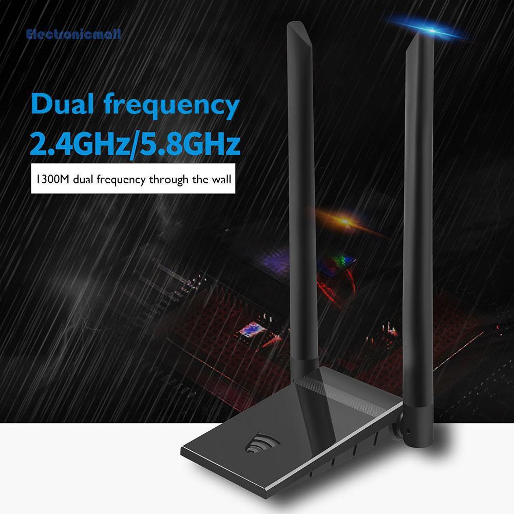 Thiết Bị Nhận Tín Hiệu Wifi Không Dây Điện Tửmall01 6b60 1300m 2.4ghz 5.8ghz