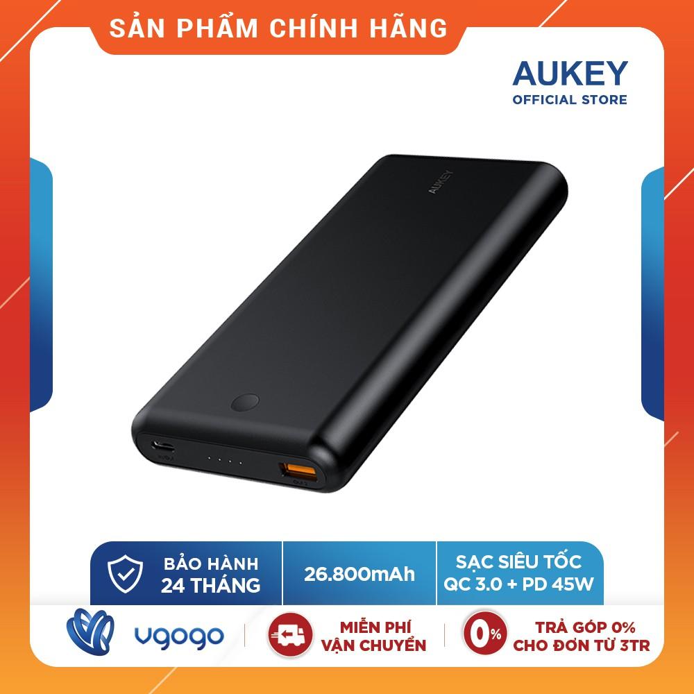 Pin Sạc Dự Phòng 26800mAh Aukey PB-XD26 45W - Nhà Phân Phối Chính Thức