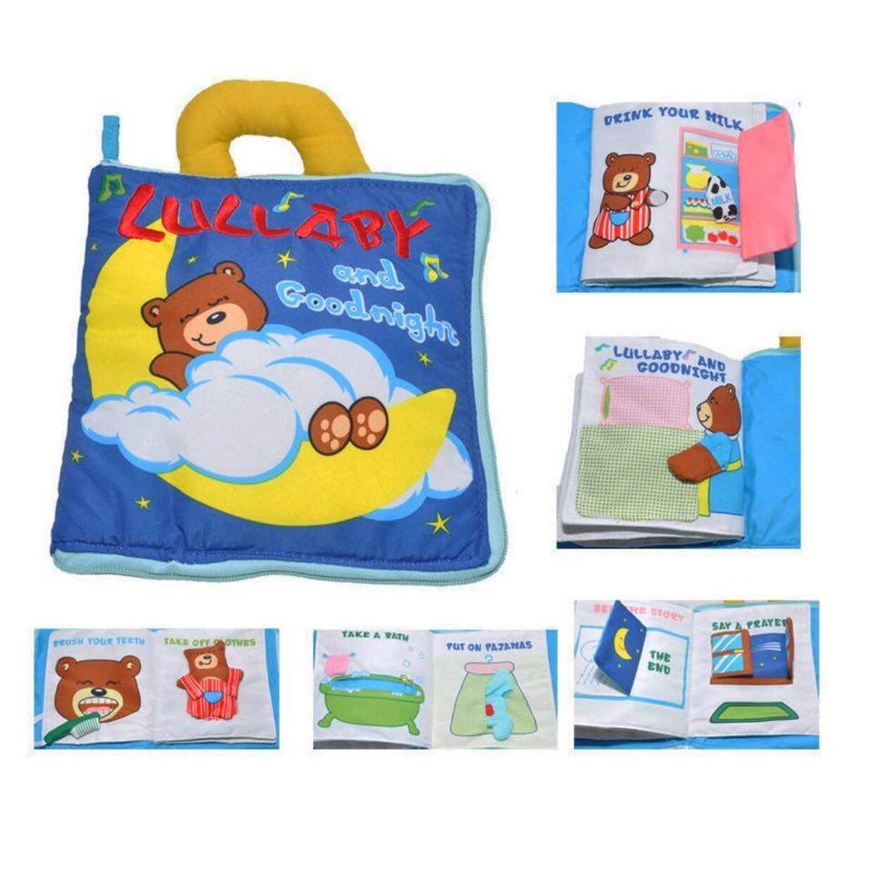 SÁCH VẢI LULLABY AND GOOGNIGHT