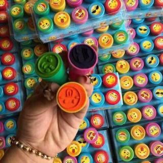 (GIÁ CỰC RẺ)Set 10 con dấu IN STICKER cho bé