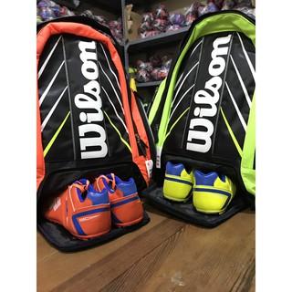 [HÀNG CHUẨN] Bao đựng vợt Tennis, Balo Đựng Vợt Tennis Wilson Chất Lượng Cao - nhiều màu thumbnail