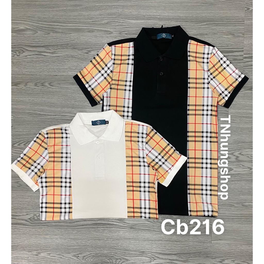 Sỉ áo thun áo phông nam polo ngắn tay có cổ giảm giá Mã cb216 tnhung
