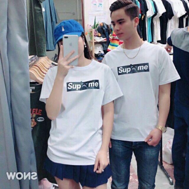 Áo in cặp đôi Supreme SN054 AIC016