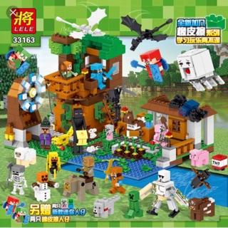 [Nhập mã TOYJUNE giảm 10K]Lego My World minecraft nhà máy nông trại 33163-1007 chi tiết