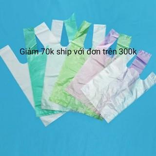 Túi bóng hai quai túi nilon không mùi từ 0,5 đến 20 kg đựng thực phẩm