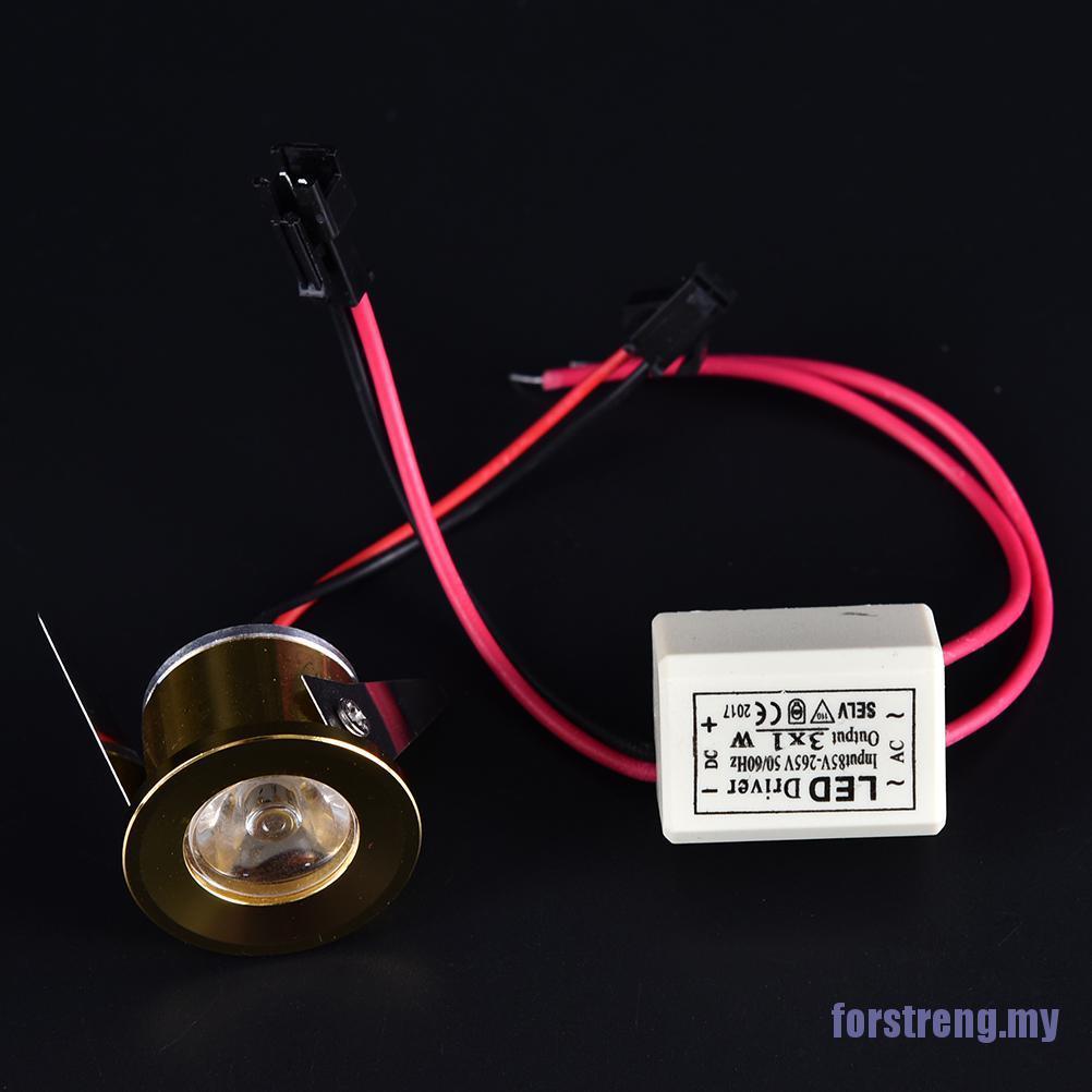 Đèn Led Mini 3w 85-265v Gắn Tủ Quần Áo Tiện Dụng