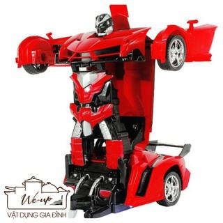 HÀNG XUẤT_ ĐồChơi Cho Bé – Ô Tô Biến Hình Thành Robot Transformers Điều Khiển Từ Xa – Ô Tô Biến Hình – 219