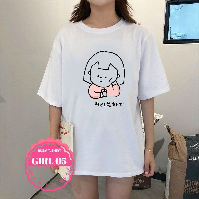 ÁO THUN Nữ thời trang cá tính hình hoạt hình cute,áo thun gân,áo thun kiểu nữ - 15450662 , 2641894955 , 322_2641894955 , 192300 , -AO-THUN-Nu-thoi-trang-ca-tinh-hinh-hoat-hinh-cuteao-thun-ganao-thun-kieu-nu-322_2641894955 , shopee.vn ,  ÁO THUN Nữ thời trang cá tính hình hoạt hình cute,áo thun gân,áo thun kiểu nữ