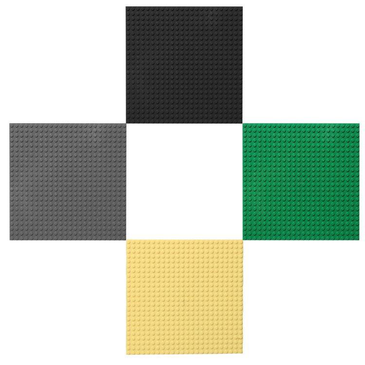 Base plate for Small Bricks Baseplates 24*24 Dots 19x19cm DIY Building Blocks HIGH