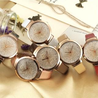 Đồng hồ thời trang nữ ViSer mặt kim tuyến V379
