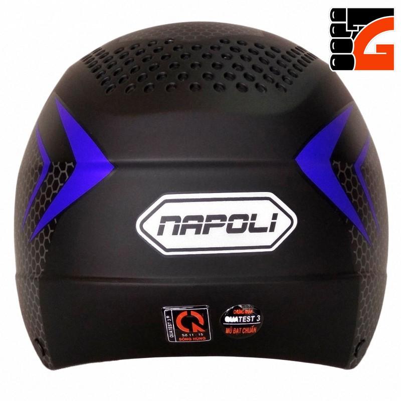 [MỚI VỀ] Mũ bảo hiểm cao cấp NAPOLI N077 nhiều màu - Bảo hành 12 tháng