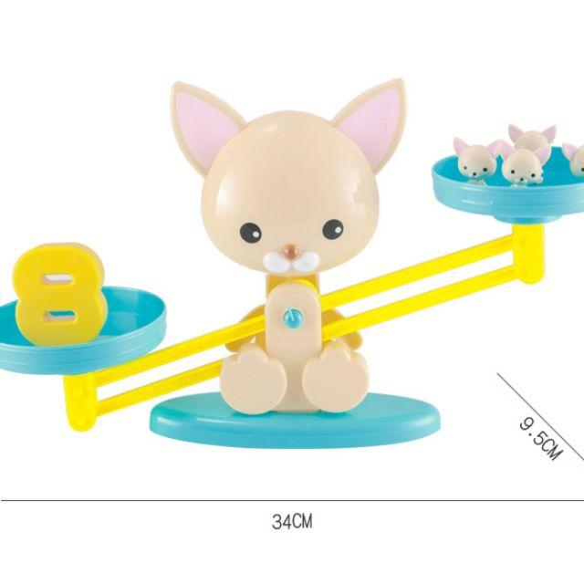 Bộ cân bằng toán học hình thỏ
