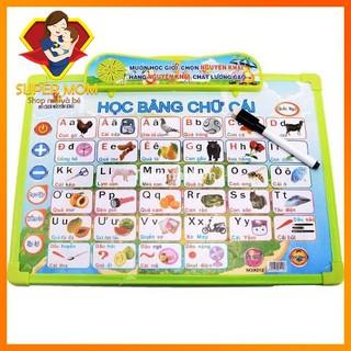 🔥SALE SHOCK🔥 Bảng Chữ Cái Phát Âm Thông Minh 9 Chủ đề cho bé tập đọc