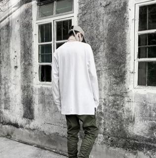 Hình ảnh Áo layer xẻ tà basic thun cotton xịn-2