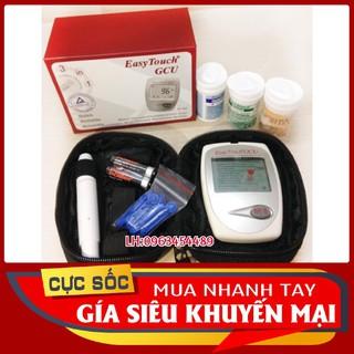 [ BH TRỌN ĐỜI ] Máy đo 3 trong 1 đường huyết,mỡ máu,gout Easy Touch ET322