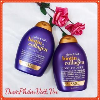 Cặp dầu gội Biotin & Collagen - Chống rụng gẫy tóc 385ML thumbnail