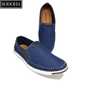 [Mã MSMALL1 hoàn 15% xu, tối đa 50K] Giày Lười Thời Trang Nam SODOHA SDH5599 Màu Xanh thumbnail