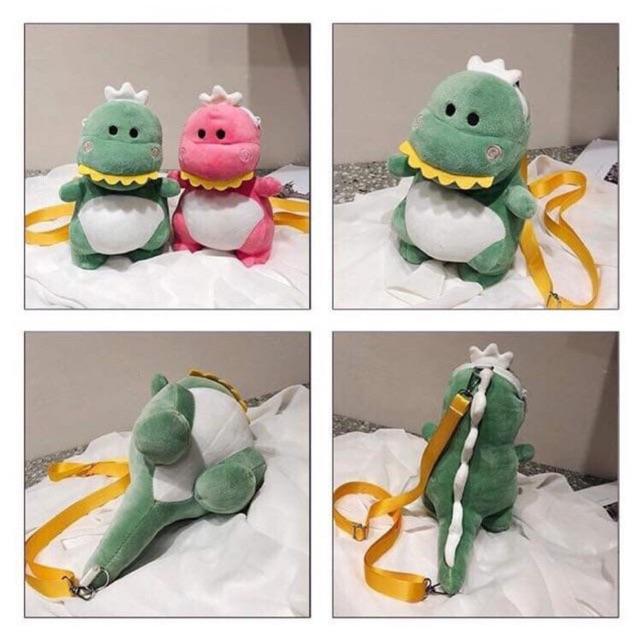 Túi bông đeo chéo khủng long