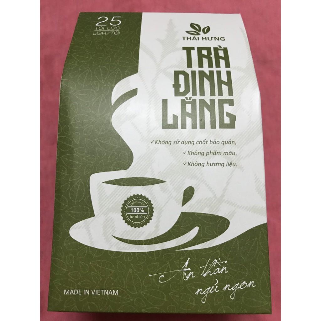 Trà đinh lăng Thái Hưng - 25 túi x 5g (cho người mất ngủ)