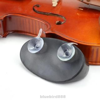 Violin Shoulder Rest Accessories Decompression Environmental Musical Instruments Protect TPU With 2 Fixed Suckers