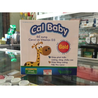 Cal Baby bổ sung canxi và vitamin D3