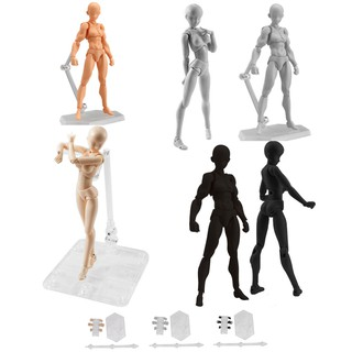 She/He Figures Body Kun Chan Set PVC Action Figure Doll Toy Gift 13cm