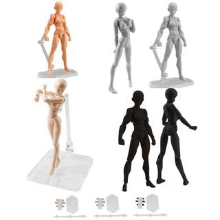 She/He Figures Body Kun Chan Set PVC Action Figure Doll Toy Gift 13cm