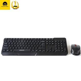 Combo bàn phím chuột không dây E-113CB thumbnail