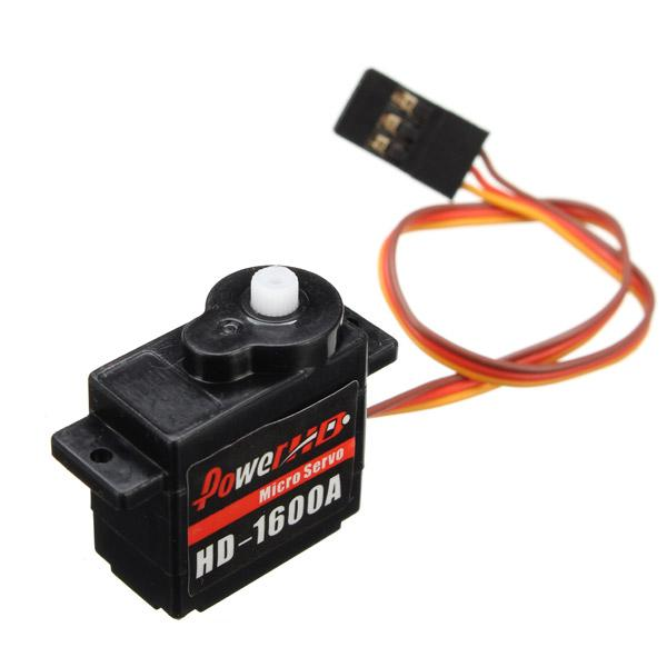 Power HD-1600A 1.3KG 6g Micro Servo Steel Ring Engine Compatible RC Car Part