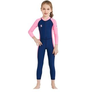 Bộ bơi dài tay bé trai, bé gái (ảnh thật) - Đồ bơi chống nắng UPF50