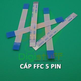 Cáp phẳng AWM 20624 5 pin