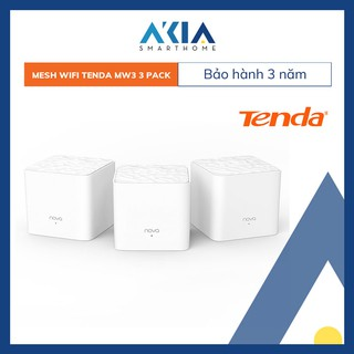 Yêu ThíchHệ thống Phát Wifi Mesh ⚡[BH 3 NĂM]⚡ Tenda Nova MW3 (3-Pack) - Hàng Chính Hãng