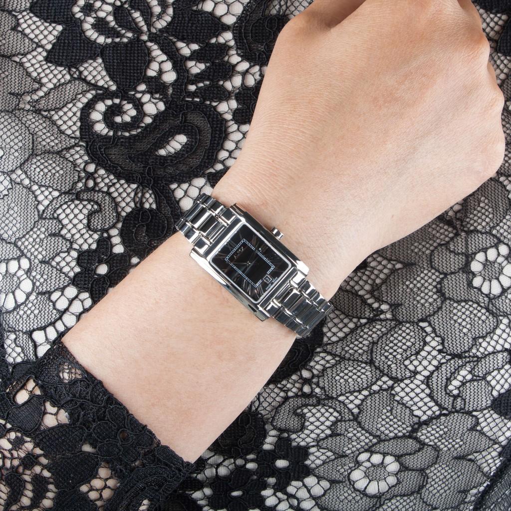 Đồng Hồ Thụy Sỹ Nữ ALFEX 5666/370 - Thời Trang Mặt Chữ Nhật Size 22×31.5mm