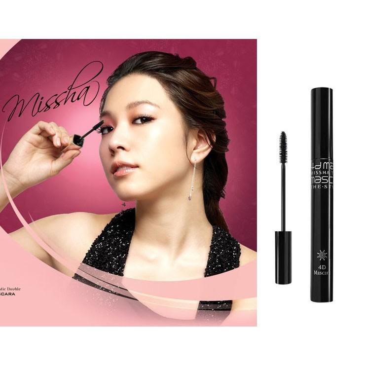 -Chải Mi Mascara The Style 4D Missha