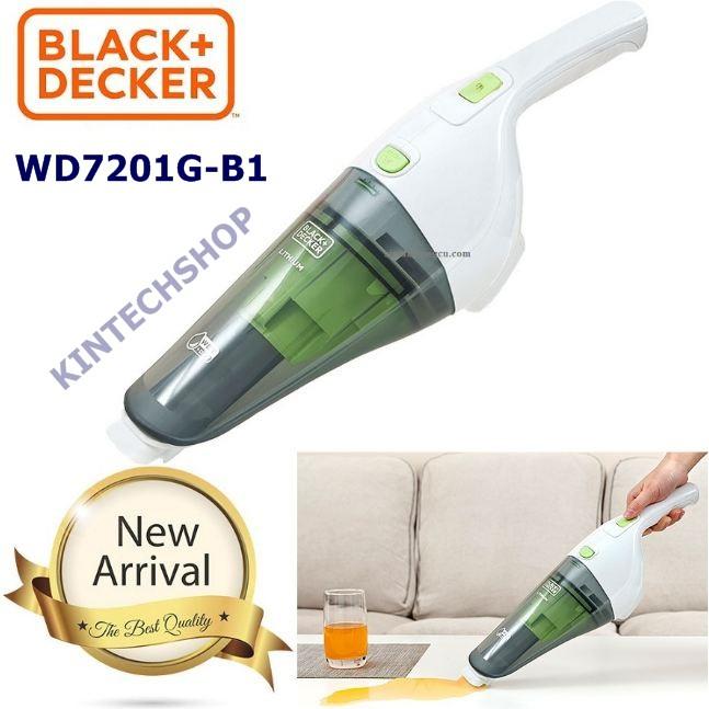 Máy hút bụi dùng pin BLACK & DECKER WD7201G-B1
