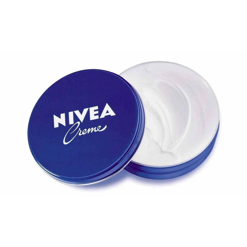 Bộ đôi Kem dưỡng ẩm da NIVEA Crème 60ml/hũ – 80102