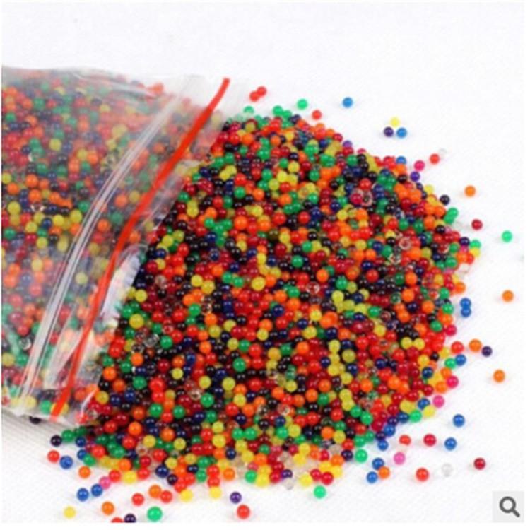 Nguyên liệu trang trí – gói 100gram hạt nở nhiều màu – hạt nở đan thạch mã HMN40