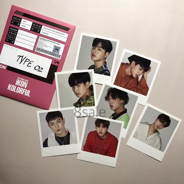iKON | Photo set (ảnh in)
