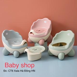 ( có sẵn ) Bô vệ sinh cao cấp cho bé yêu từ 6 tháng đến 5 tuổi chống trơn trượt có tựa và khay