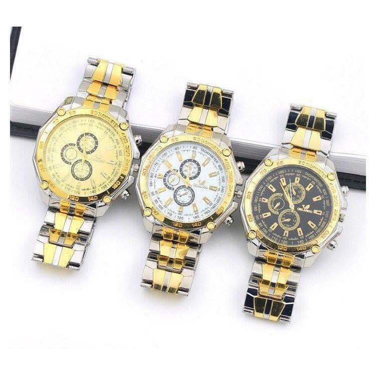 Đồng hồ thời trang nam Oriando cá tính lịch lãm
