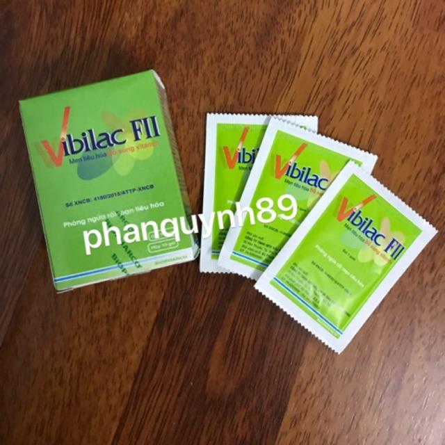 Vibilac FII - Men tiêu hóa, Bổ sung vitamin - 2646184 , 370702465 , 322_370702465 , 40000 , Vibilac-FII-Men-tieu-hoa-Bo-sung-vitamin-322_370702465 , shopee.vn , Vibilac FII - Men tiêu hóa, Bổ sung vitamin