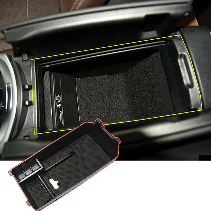 For Mercedes Benz C GLC Class W205 2015+ Console Central Armrest Storage Box