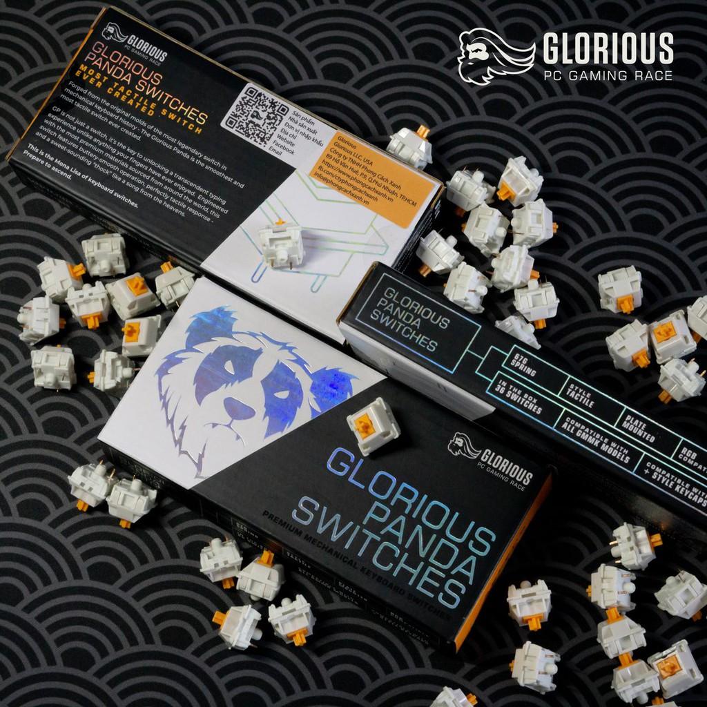 Switch cơ Glorious Panda (36 switch) - Tactile - Hàng chính hãng | Shopee Việt Nam