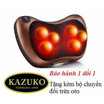 Gối Massage Hồng Ngoại Nhật Bản Kazuko 6 Bi NPG503